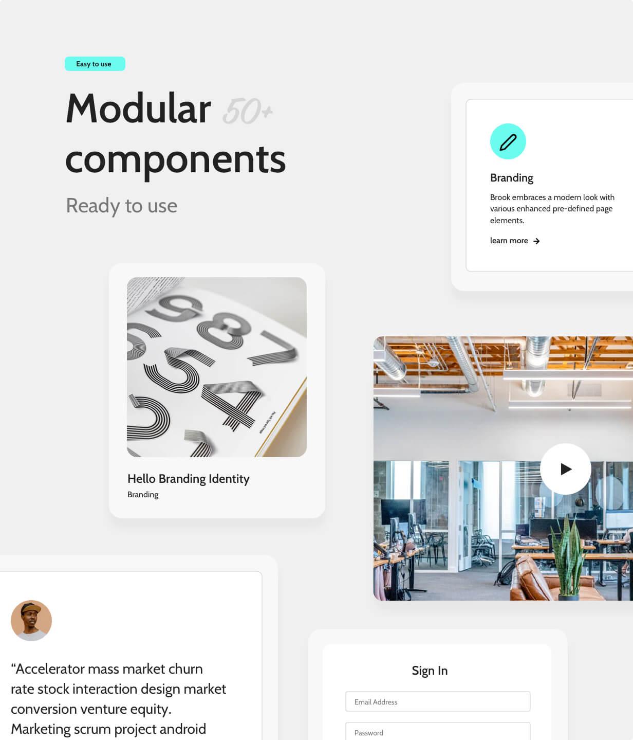 Dedafo - Corporate, Creative Agency, Studio, SaaS, Minimal Html Template - 5