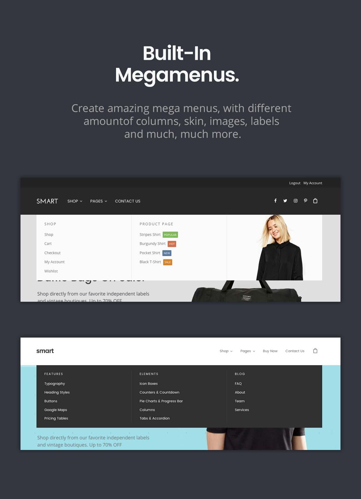 Smart — Responsive Multi-Purpose WordPress Theme - 7