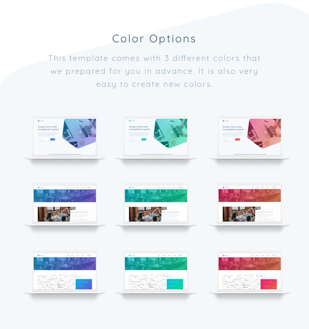 Hexagon - Agency, Startup and SaaS Template - 1