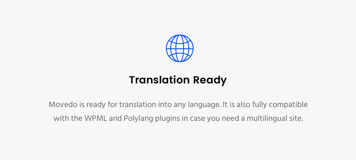 Movedo Translation Ready