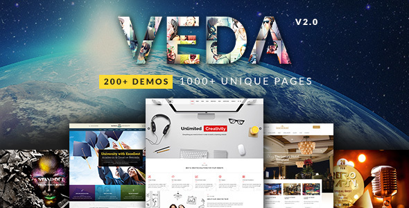 Veda - Multipupose WordPress Theme