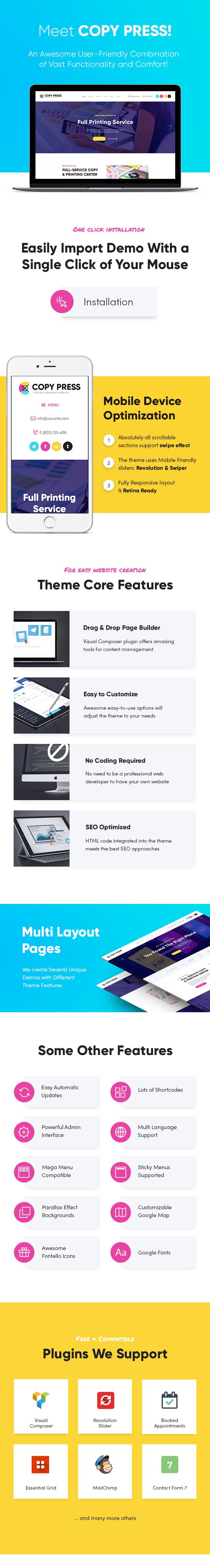 CopyPress | Type Design & Printing Services WordPress Theme - 3