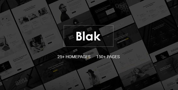Blak - Responsive Multi-Purpose Joomla Template with Page Builder - Business Corporate