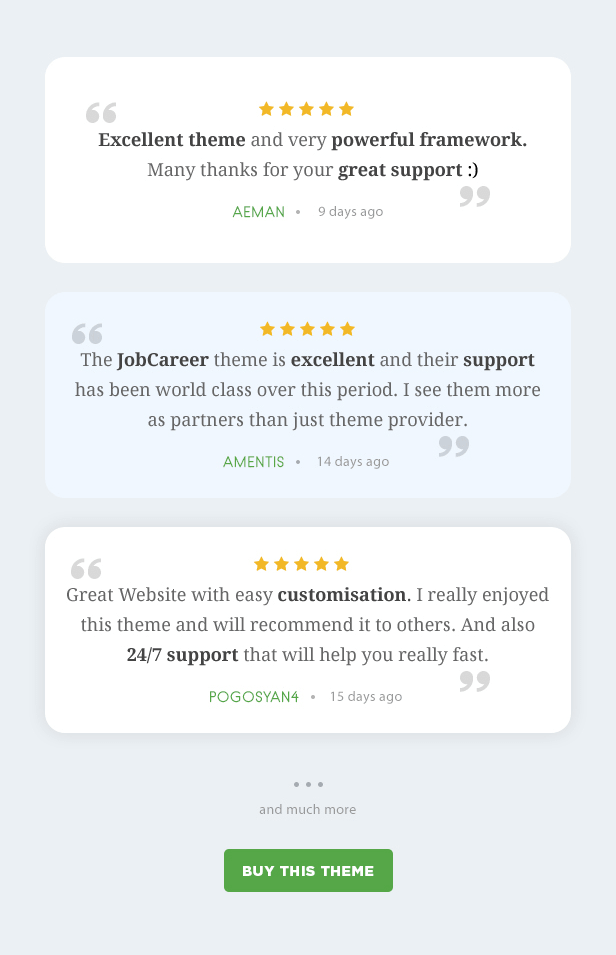 JobCareer | Job Board Responsive WordPress Theme by Chimpstudio