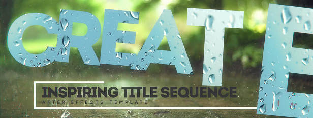 Inspiring Title Sequence