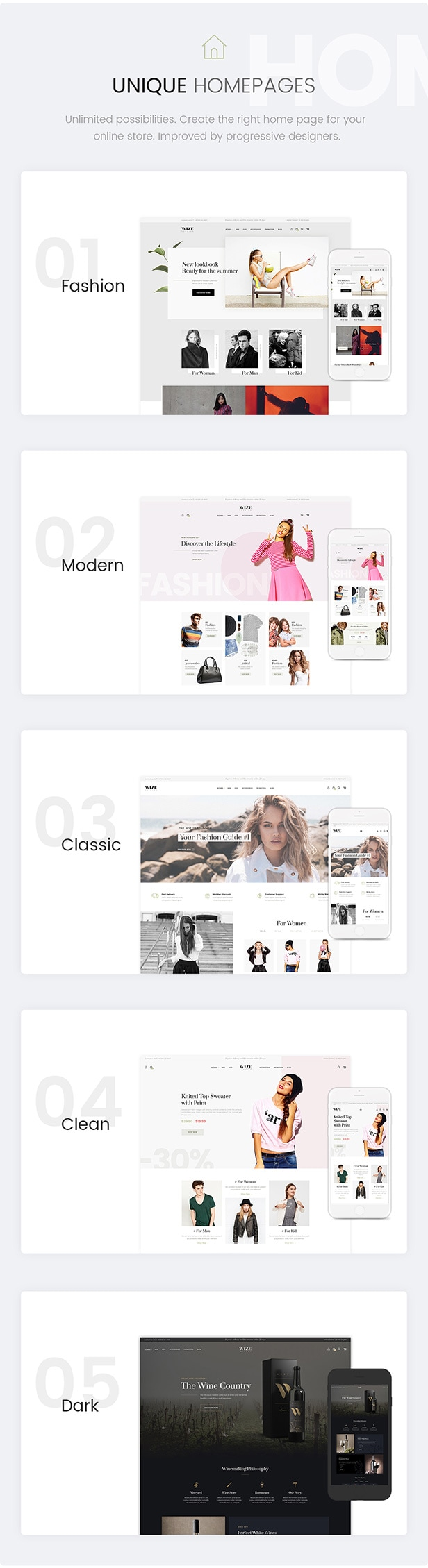 WizeStore - Multipurpose WooCommerce Shop - 4