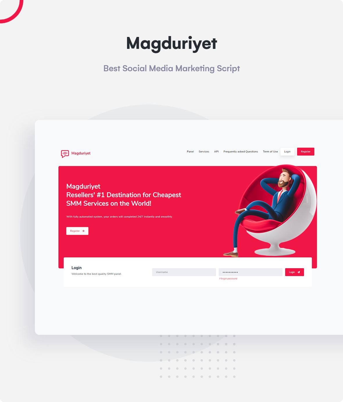 Magduriyet - Advanced SMM Panel Script - 5
