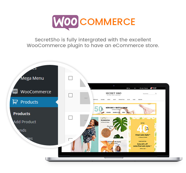SW SecretSho - WooCommerce Theme