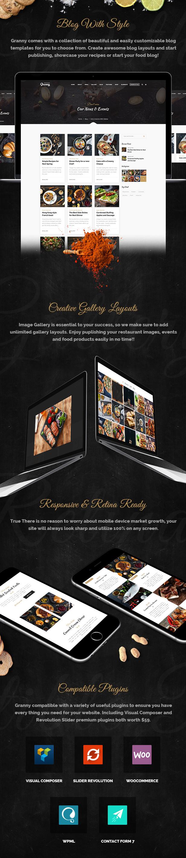 Restaurant Granny - Elegant Restaurant & Cafe WordPress Theme - 9
