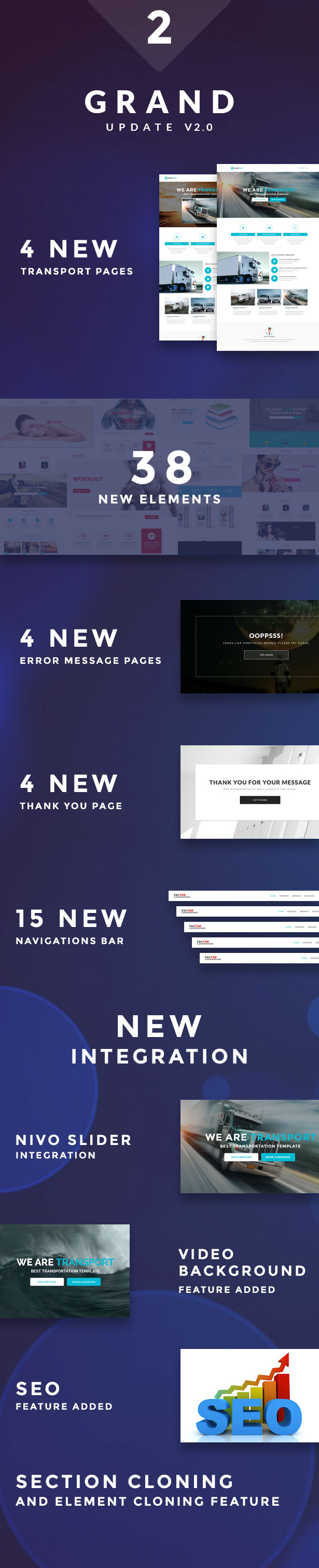 Factor - Multipurpose Landing Page Template With Page Builder - 1