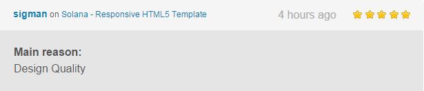 Solana - Responsive HTML5 Template - 10