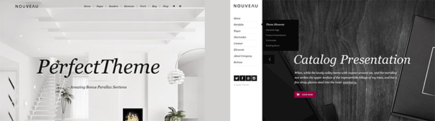 Nouveau - Multipurpose WordPress Theme - 1