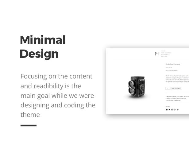 Minishop - Multipurpose, Minimal, e-Commerce, Marketplace WordPress Theme 34