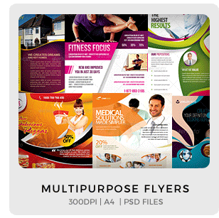 Abstract Party Flyers Bundle Vol1 - 10
