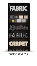 Fabric photoshop text effect styles 2