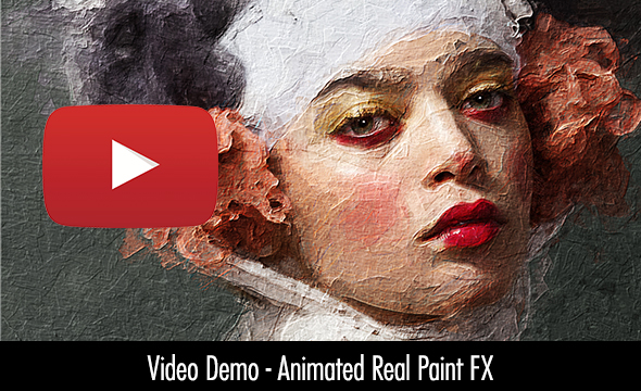 Animated Real Paint FX - Photoshop Add-On - 7