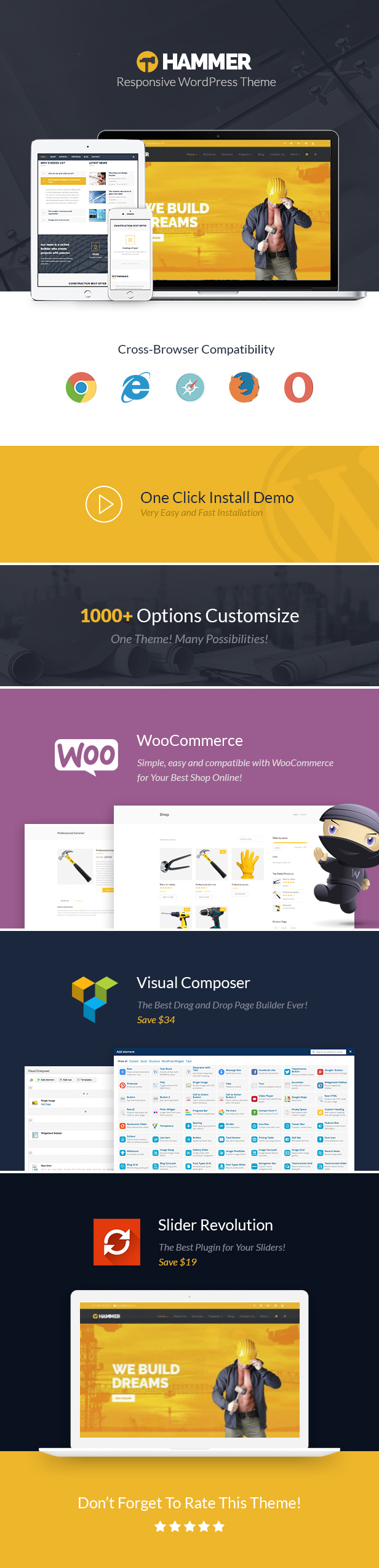 Hammer - Multi-Trade, Construction Business WordPress Theme - 12