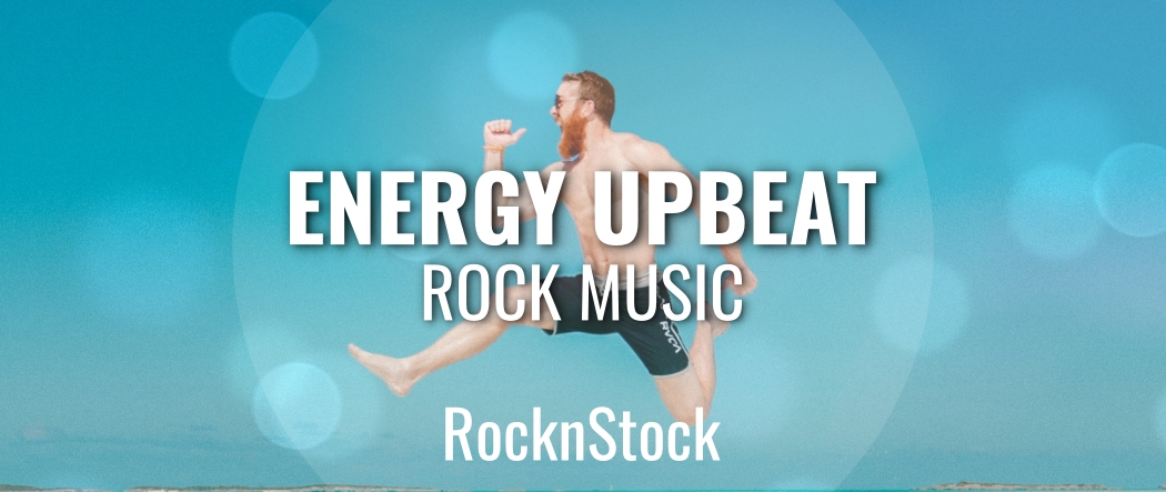 Energy Upbeat Rock Music by RocknStock   AudioJungle