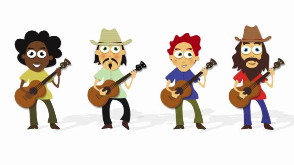 Guitar Cartoon Pictures Impremedia Net