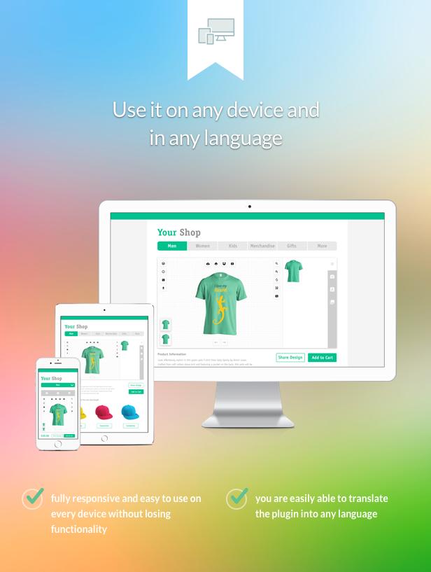 Fancy Product Designer | WooCommerce WordPress - 7
