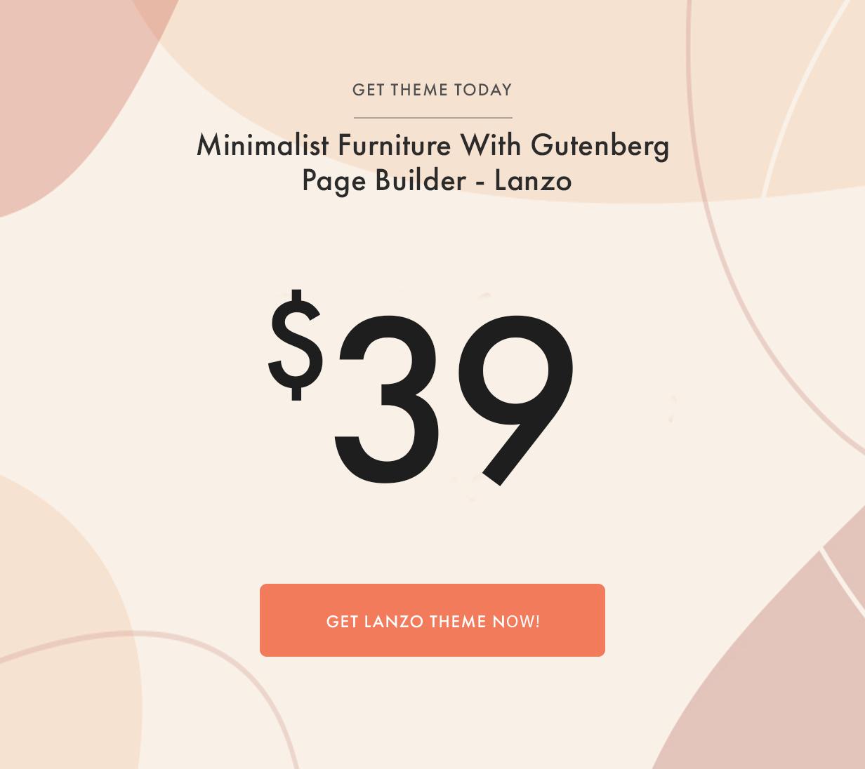 Lanzo - Gutenberg WooCommerce WordPress Theme - 1