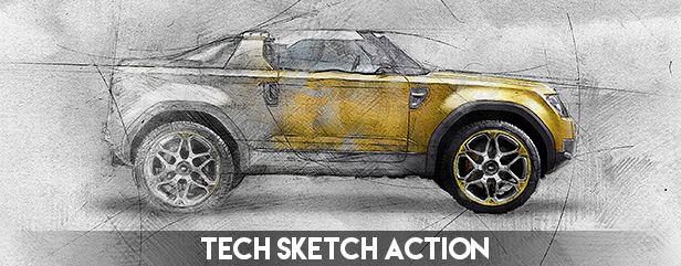 Concept Art Photoshop Action - 23
