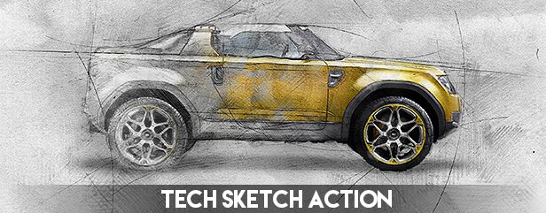 Archi Sketch Photoshop Action - 22