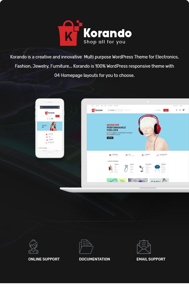 Korando - Multipurpose Theme for WooCommerce WordPress 20