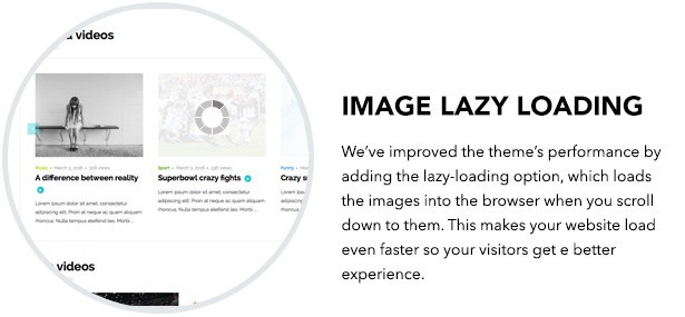 TouchSize Video WordPress Theme Premium