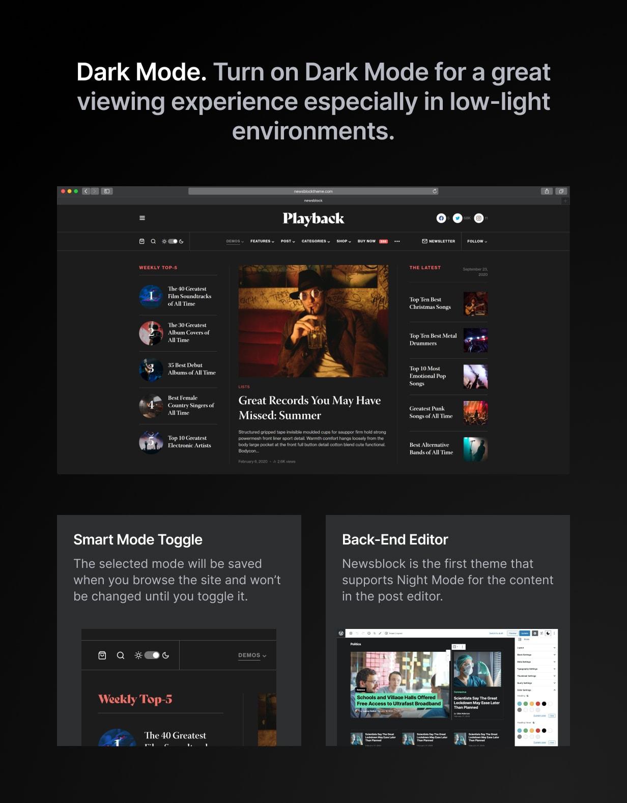 Newsblock - News & Magazine WordPress Theme with Dark Mode - 2