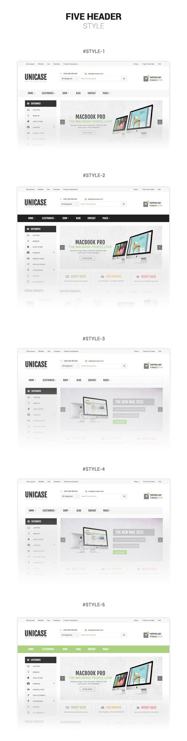 Unicase - Electronics Store WooCommerce Theme - 3
