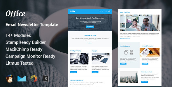 Ener - Multipurpose Responsive Email Template - Stamp Ready