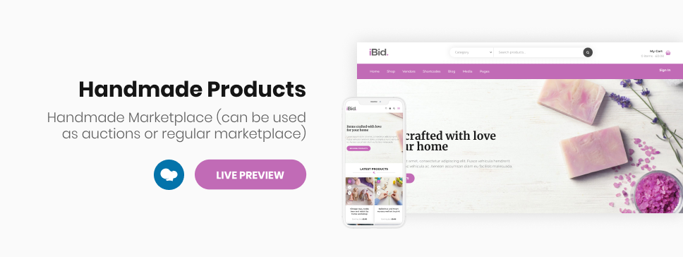 iBid - Multi Vendor Auctions WooCommerce Theme - 17