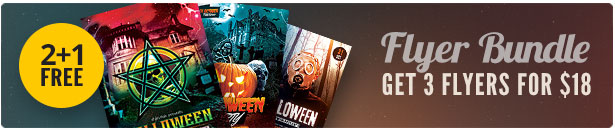 Halloween Flyer Bundle Vol.04
