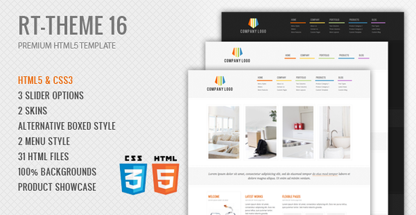 RT-Theme 17 Premium HTML5 Template - 6