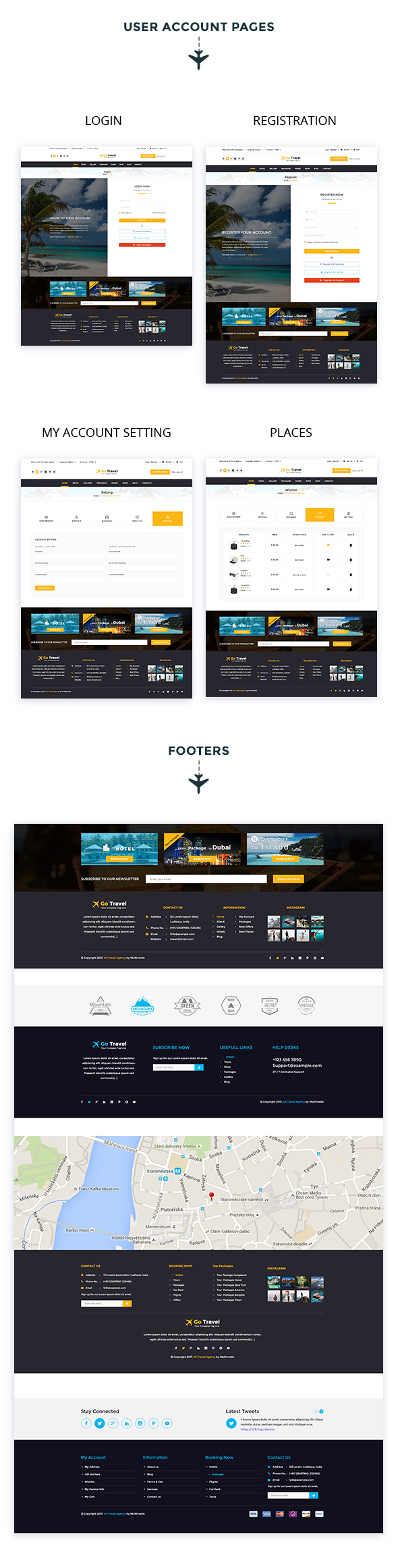 Travel PSD Template - 11