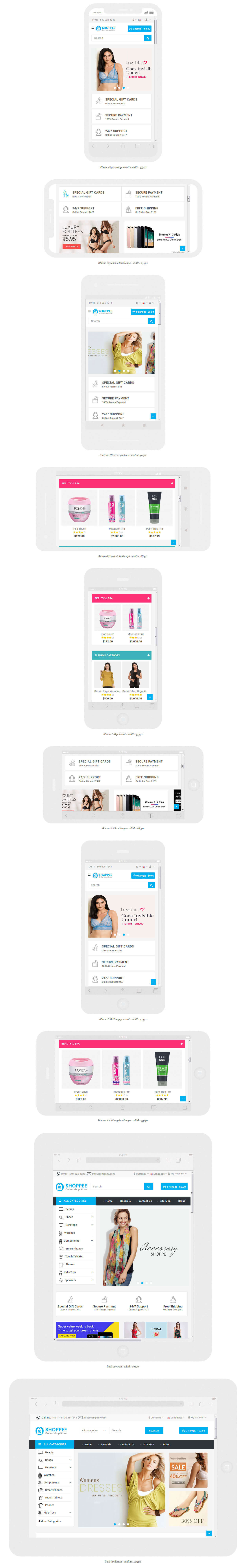 Shoppee OpenCart 3.X electronic Fashion shoes toys Theme - 2