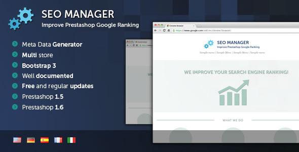 Prestashop SEO Manager - CodeCanyon Item for Sale