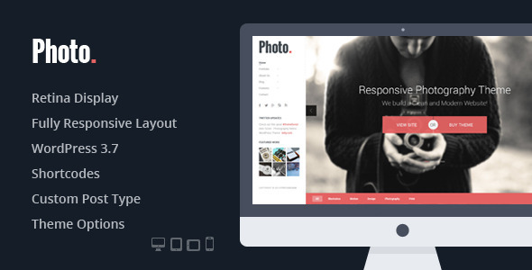 Photo - Photography PSD Template - 7