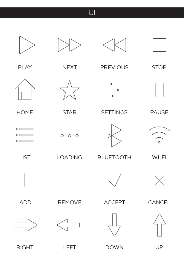 100 Animated Line Icons