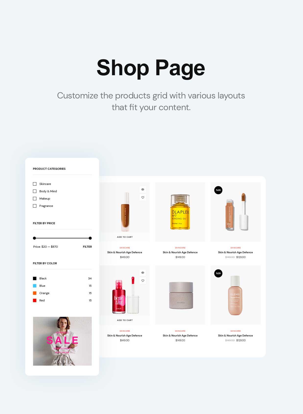 Cosmetsy - Beauty Cosmetics Shop Theme - 6
