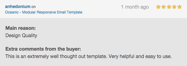 Oceanic - Modular Responsive Email Template - 6