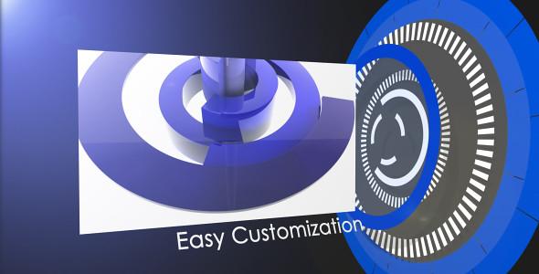 Circle Display Easy Customization