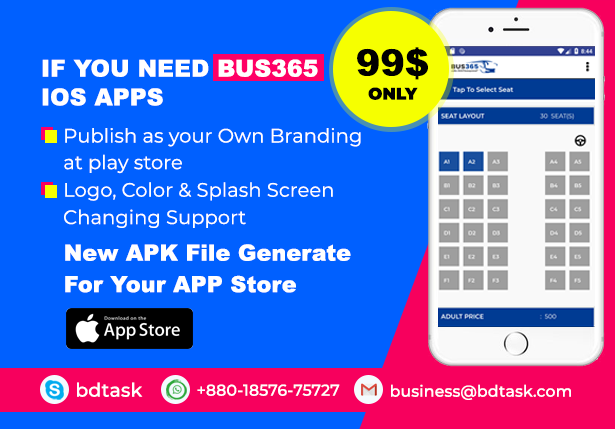 Bus365 - Bus Reservation System with Website - 2