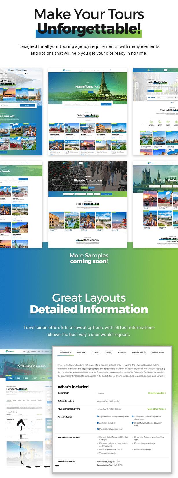 Travelicious - Tourism, Travel Agency & Tour Operator WordPress Theme - 1