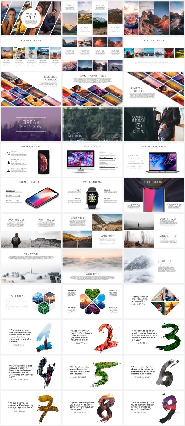Multipurpose Infographics PowerPoint Templates v.5.0 - 106