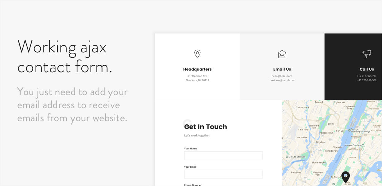 Bezel - Creative Multi-Purpose HTML Template - 8