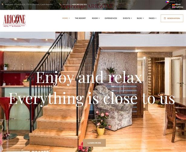 Paradise - Hotel & Resort Responsive WordPress Theme - 8