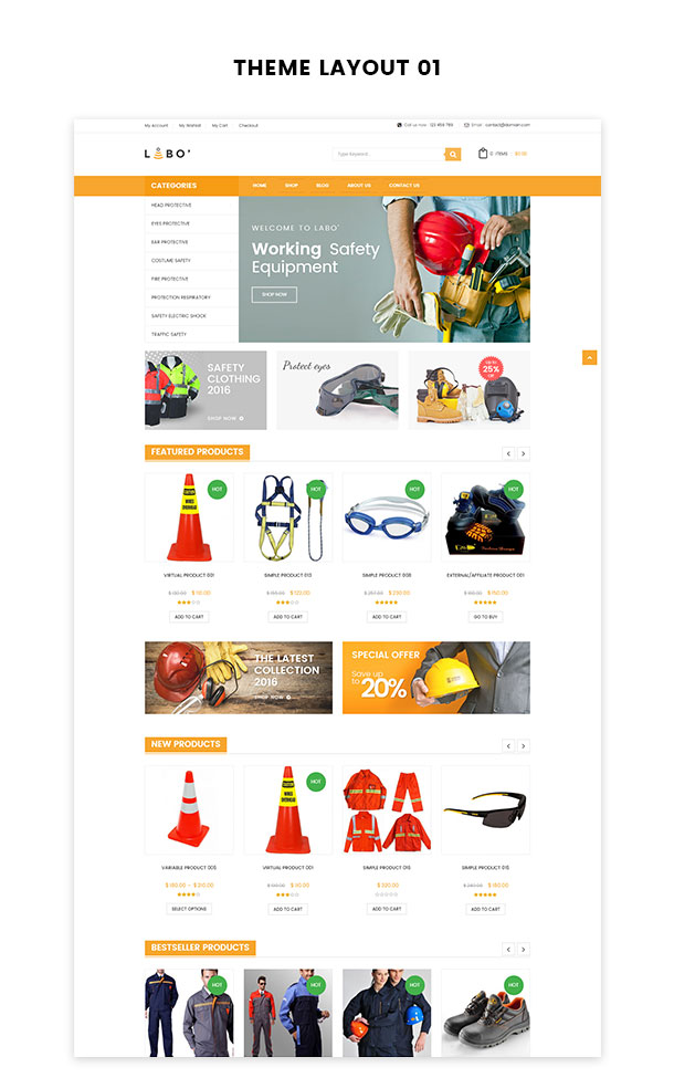 VG Labo - WooCommerce Theme for Tools, Equipment Store - 13