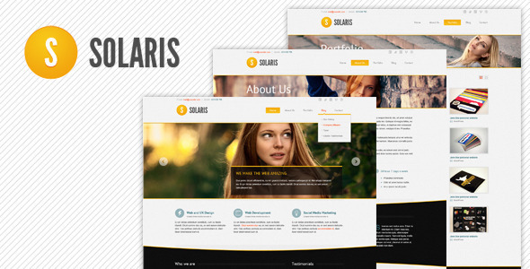 Solaris Best Responsive Drupal Themebest Free Theme 7